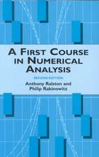 A First Course in Numerical Analysis:  Second Edition