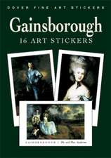 Gainsborough:  16 Art Stickers