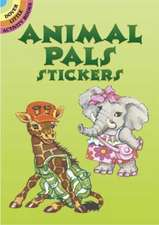 Animal Pals Stickers:  Easy and Advanced Projects