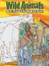 Wild Animals:  Coloring Book