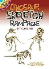 Dinosaur Skeleton Rampage Stickers