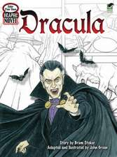 Color Your Own Graphic Novel:  Dracula