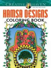 Hamsa Designs Coloring Book