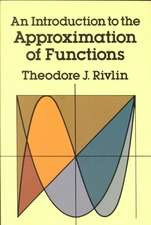 An Introduction to the Approximation of Functions:  An Introduction