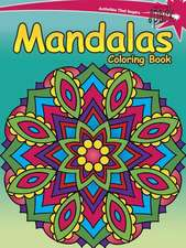 Spark Mandalas Coloring Book:  Inspirational Designs on a Dramatic Black Background