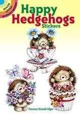 Happy Hedgehogs Stickers