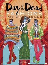 Day of the Dead Fashions Paper Dolls