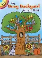 My Busy Backyard Activity Book