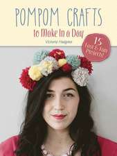 Pompom Crafts to Make in a Day