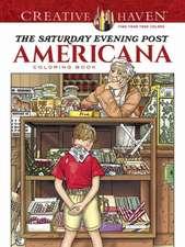 Creative Haven the Saturday Evening Post Americana Coloring Book