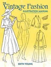 Vintage Fashion Illustration Manual