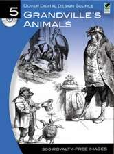 Grandville's Animals [With CDROM]