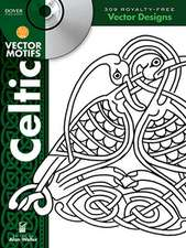 Celtic Vector Motifs [With CDROM]:  1000 CMYK & RGB Color Combinations [With CDROM]