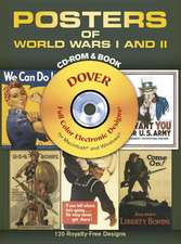 Posters of World Wars I and II [With CDROM]