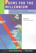 Poems for the Millenium V 2 – The University of California Book of Modern & Postmodern Poetry