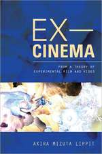 Ex–Cinema – From a Theory of Experimental Film and Video