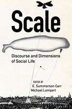 Scale – Discourse and Dimensions of Social Life