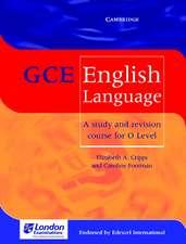 Cripps, E: GCE English Language