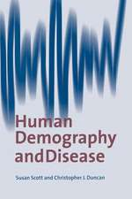 Human Demography and Disease