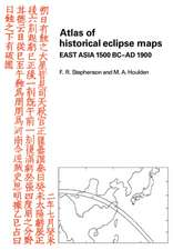 Atlas of Historical Eclipse Maps: East Asia 1500 BC–AD 1900