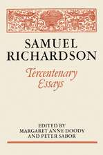 Samuel Richardson: Tercentenary Essays
