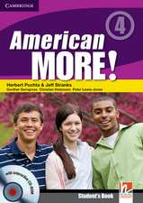 American More! Level 4 Student's Book with CD-ROM