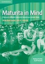 Maturita in Mind Level 4 Workbook Czech edition
