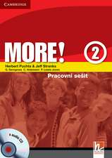 More! Level 2 Workbook with Audio CD Czech edition