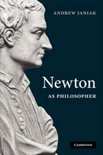 Newton as Philosopher