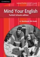Mind your English 9th Grade Workbook Turkish Schools edition