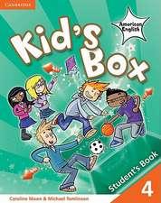 Kid's Box American English Level 4 Student's Book