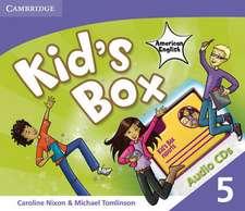 Kid's Box American English Level 5 Audio CDs (3)