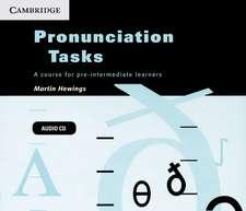 Pronunciation Tasks Audio CDs (3): A Course for Pre-intermediate Learners