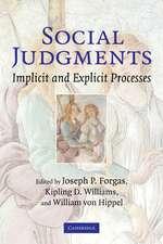 Social Judgments: Implicit and Explicit Processes