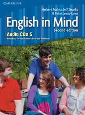 English in Mind Level 5 Audio CDs (4)