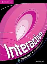 Interactive Level 4 Testmaker CD-ROM and Audio CD