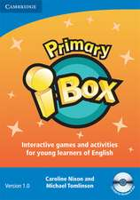 Primary i-Box CD-ROM (Single classroom): Classroom Games and Activities