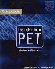 Insight into PET Student's Book without Answers