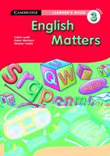 English Matters Grade 3 Learner's Book