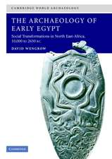 The Archaeology of Early Egypt: Social Transformations in North-East Africa, c.10,000 to 2,650 BC