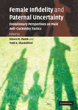 Female Infidelity and Paternal Uncertainty: Evolutionary Perspectives on Male Anti-Cuckoldry Tactics
