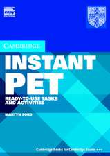 Instant PET Book and Audio CD Pack: Ready-to-Use Tasks and Activities