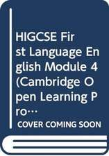 HIGCSE First Language English Module 4