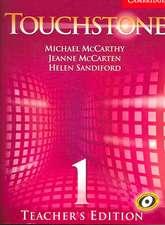 Touchstone Teacher's Edition 1 Teachers Book 1 with Audio CD