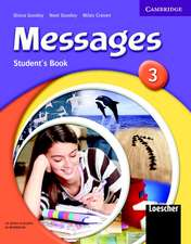 Messages 3 Student's Pack 3 Italian Edition