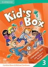 Kid's Box Level 3 Interactive DVD (PAL) with Teacher's Booklet