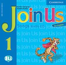 Join Us for English Level 1 Songs Audio CD Polish Edition
