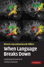 When Language Breaks Down: Analysing Discourse in Clinical Contexts
