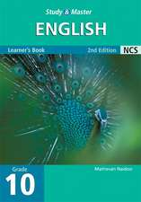 Study and Master English Grade 10 Learner's Book Second edition