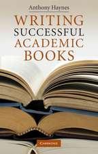 Writing Successful Academic Books